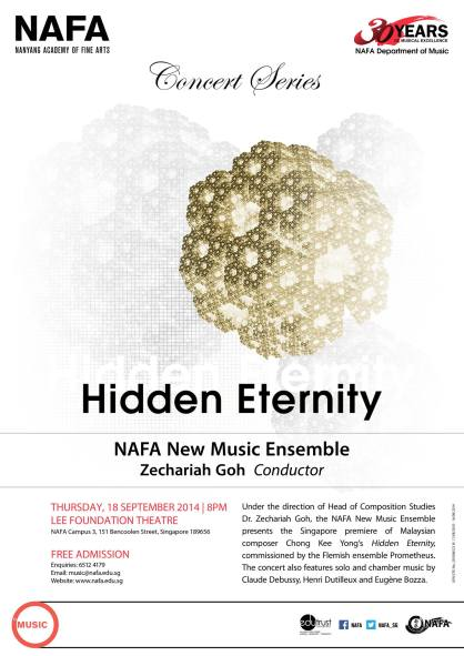 Hidden Eternity concert poster